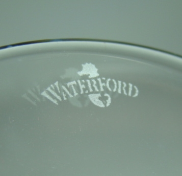 Marks dates waterford Waterford Crystal